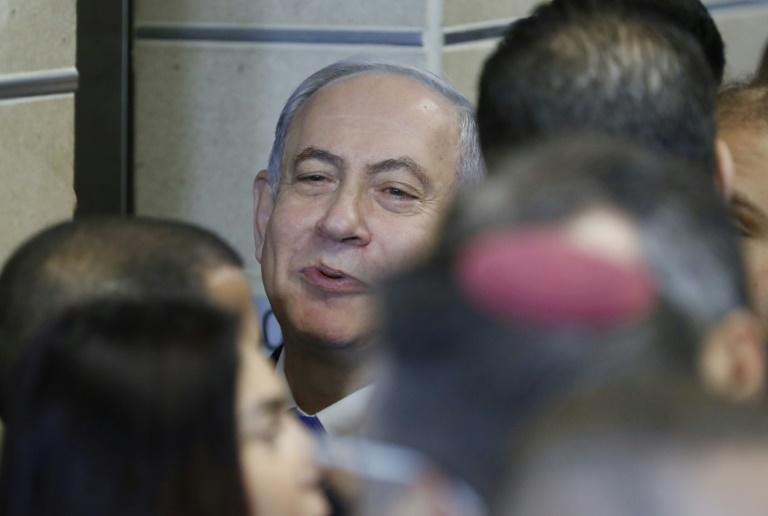 Netanyahu's downfall has been predicted multiple times since he was elected for a second term in 2009, but he has defied expectations and beaten off multiple potential rivals (AFP Photo/Jack GUEZ )