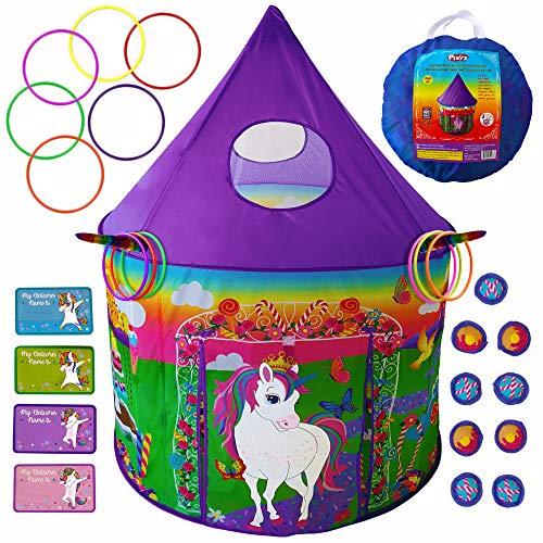 Playz 5-in-1 Unicorn and Rocketship Play Tent (Amazon / Amazon)