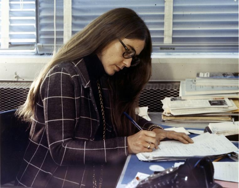 Margaret Hamilton led the team that programmed Apollo's flight computer; their code allowed the machine to prioritize crucial tasks over non-essential ones (AFP Photo/HO)