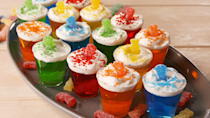 """<p>First they're sour, then they're sweet.</p><p>Get the recipe from <a href=""""https://www.delish.com/cooking/recipe-ideas/a19867604/sour-patch-jell-o-shots-recipe/"""" rel=""""nofollow noopener"""" target=""""_blank"""" data-ylk=""""slk:Delish"""" class=""""link rapid-noclick-resp"""">Delish</a>.</p>"""
