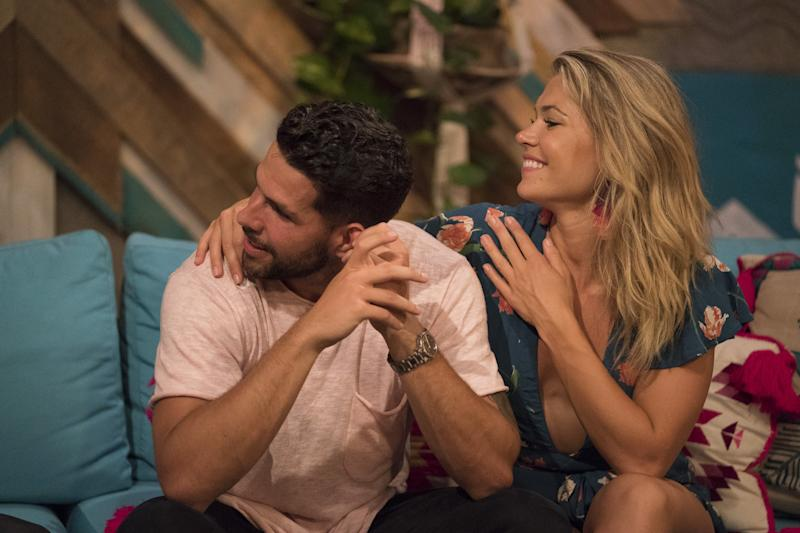 Chris Randone and Krystal Nielson on Bachelor in Paradise season 5