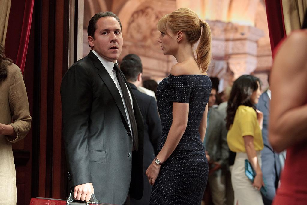 """<a href=""""http://movies.yahoo.com/movie/contributor/1800018685"""">Jon Favreau</a> and <a href=""""http://movies.yahoo.com/movie/contributor/1800018601"""">Gwyneth Paltrow</a> in Paramount Pictures' <a href=""""http://movies.yahoo.com/movie/1810026429/info"""">Iron Man 2</a> - 2010"""