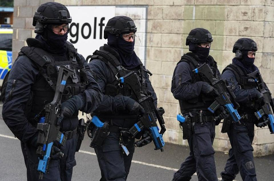 Armed Police Scotland officers will be among those providing security during Cop26 (Andrew Milligan/PA) (PA Wire)
