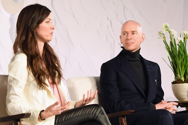 Brogan was a panel speaker at the 2018 Goop Health Summit. Image via Getty Images.