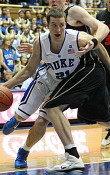 Miles Plumlee will team with his brother Mason to give Duke a more athletic duo in the paint compared to last season