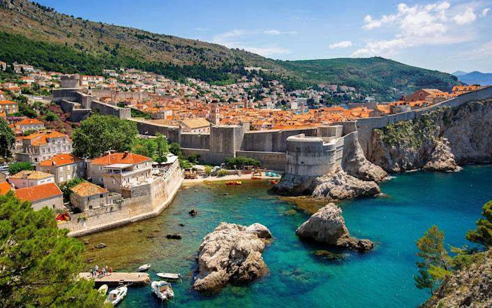 The walled city of Dubrovnik in Croatia, the last country to join the European Union. - artherng/Artie | Photography