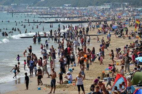 Bournemouth beach is popular with Britons - Credit: 2016 Getty Images/Carl Court