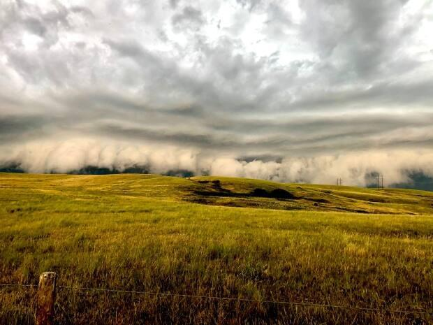 The wide open areas of southwestern Saskatchewan are a great place to admire the living skies.