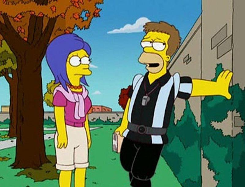 'That '90s Show' rubbed viewers up the wrong way, not because of its unsuitable or offensive content, bit because it completely re-wrote the narrative of The Simpsons, with many outraged fans of the show lambasting writers for setting Homer and Marge's early romance in the 1990s, despite the fact the classic episode 'The Way We Was' - which first pairs them up as a couple - was actually set in the late 1970s.