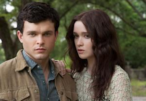 Alden Ehrenreich and Alice Englert in 'Beautiful Creatures'