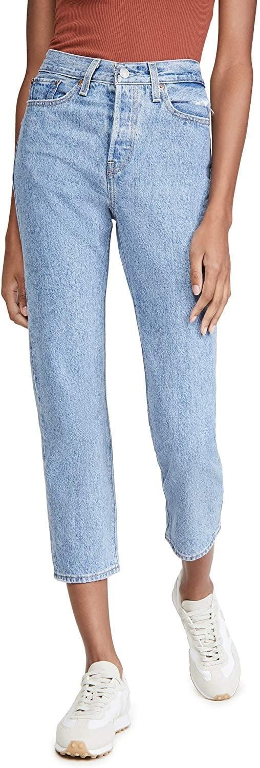 <p>Everyone needs classic denim, so invest in these <span>Levi's Wedgie Straight Jeans</span> ($98).</p>