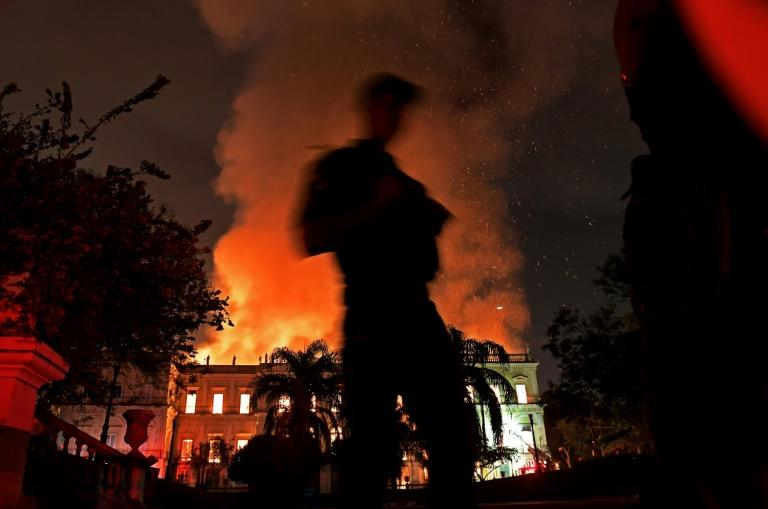The fire tore through one of Brazil's most important museums