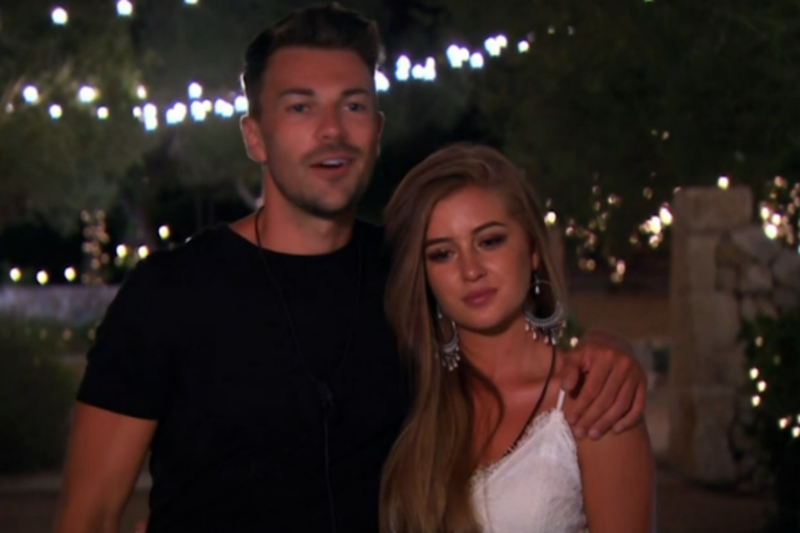 Exit: Georgia Steel and Sam Bird dumped themselves from the villa by staying loyal to each other: ITV