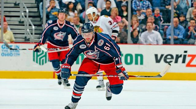 <p>Hampered by a weak supporting cast in Columbus, Nash was slow to deliver on the promise of his league-leading 41-goal season of 2003-04, but his 40-goal, 79-point campaign of 2008-09 was instrumental in the Blue Jackets reaching the playoffs for the first time in their history. He was later traded to the New York Rangers in July 2012 as part of a rebuilding effort by Columbus, and scored 42 goals in 2014-15. — Notable picks: No. 2: Kari Lehtonen. G, Atlanta Thrashers | No. 13: Alexander Semin, LW, Washington Capitals | No. 25: Cam Ward, G, Carolina Hurricanes | No. 54: Duncan Keith, D, Chicago Blackhawks</p>