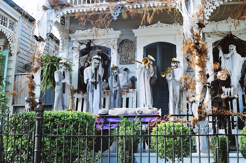 <p>Considered to be one of the most haunted cities in the United States, New Orleans is a no-brainer when it comes to <span>Halloween</span>. The party scene cannot be beat, and with a deep history of the occult and picturesque cemeteries, New Orleans is the place to be for a spine-chilling thrill. From <span>Halloween</span> parties and parades on Bourbon Street to the famous Voodoo Music Festival, there are endless activities for anyone who enjoys All Hallows' Eve. </p>