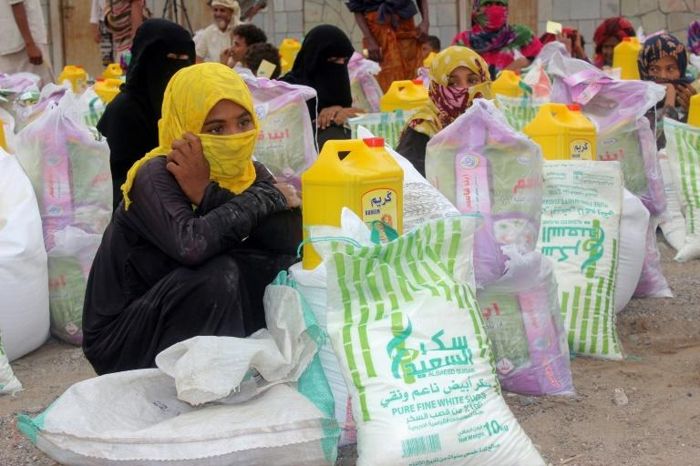 A fragile truce in the key port of Hodeida has helped facilitate the distibution of  food aid to some of the 24.1 Yemenis in need