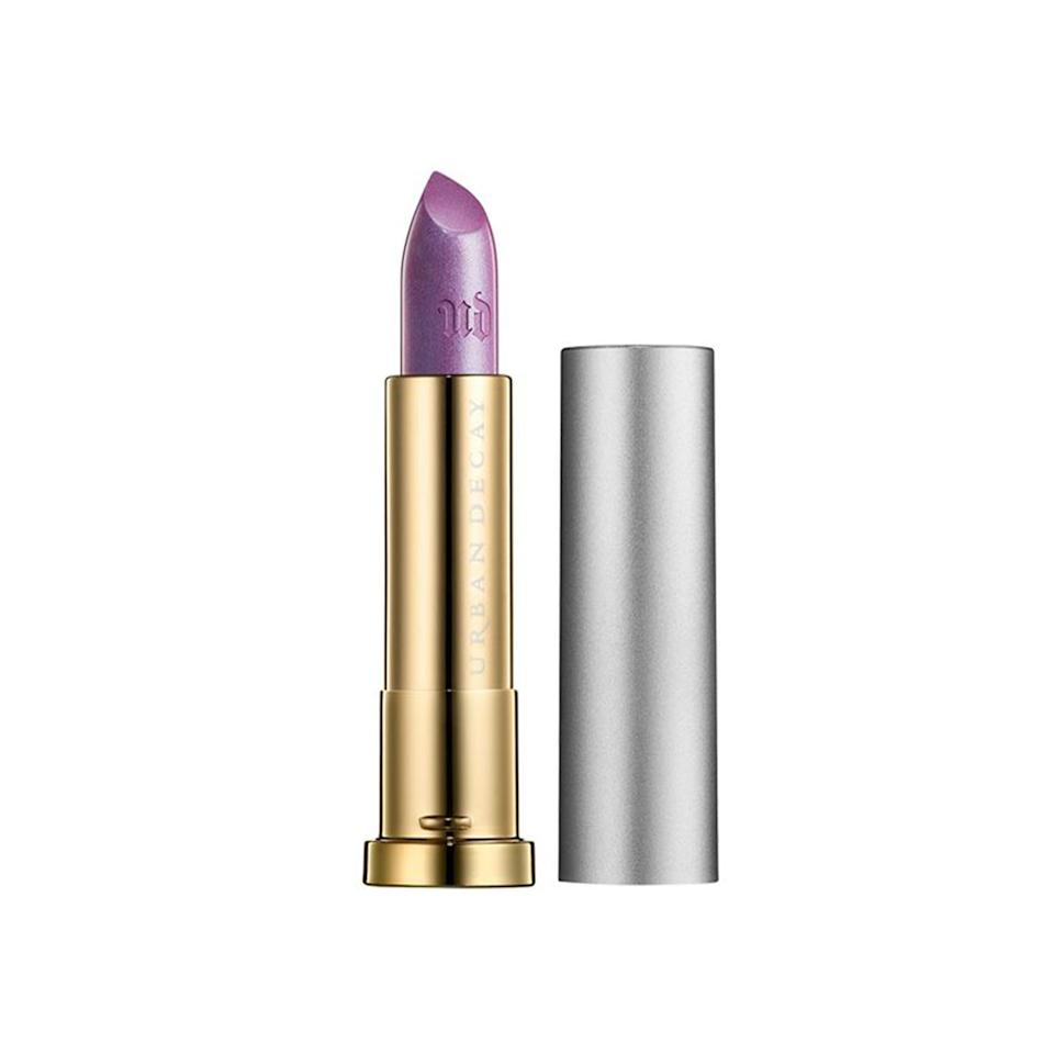 """<p><a rel=""""nofollow"""" href=""""http://www.sephora.com/vice-lipstick-vintage-capsule-collection-P412338?mbid=synd_yahoobeauty"""">Urban Decay Vice Lipstick Vintage Capsule Collection in Asphyxia ($17)</a></p> <p><strong>More from Allure:</strong> <a rel=""""nofollow"""" href=""""http://www.allure.com/gallery/air-drying-hair-tips?mbid=synd_yahoobeauty"""">14 Ways to Air-Dry Your Hair (No Matter Your Hair Type)</a></p>"""