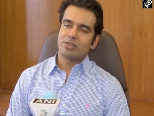 Abhishek Singh, the founder of United by blood (Photo/ANI)
