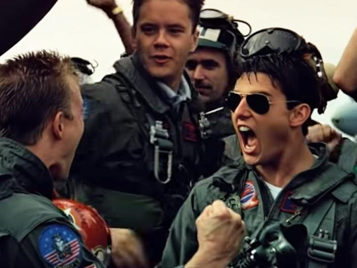 top gun iceman maverick