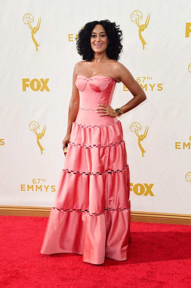 Tracee Ellis Ross in Zac Posen