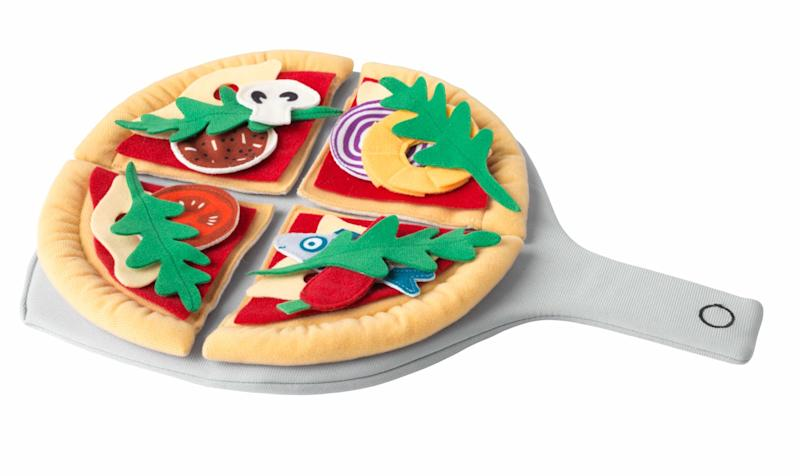 "A dream for all the little pizza chefs.&nbsp;<strong>Ages:</strong> 3+&nbsp;<strong>Get it at:</strong> <a href=""https://www.ikea.com/ca/en/p/duktig-24-piece-pizza-set-pizza-multicolor-80427819/"" target=""_blank"" rel=""noopener noreferrer"">IKEA</a>, $12.99"