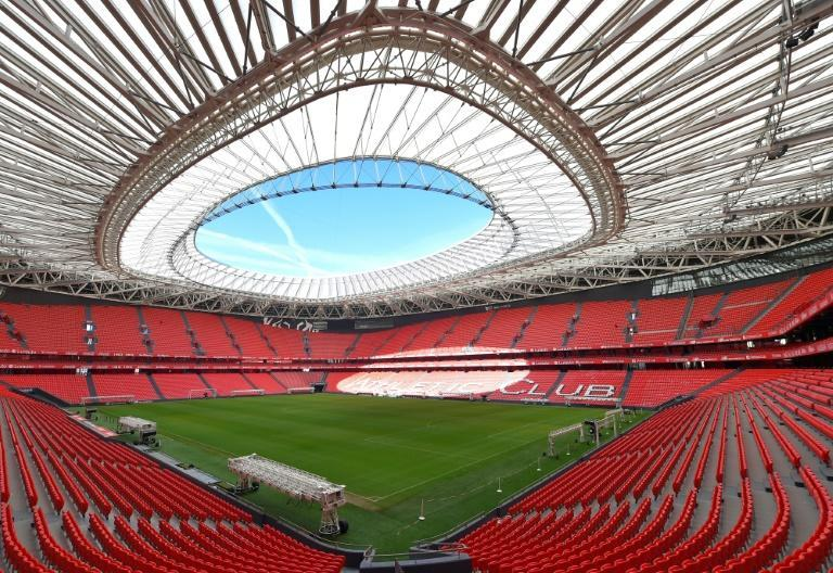 The San Mames cannot host fans for the Euros and Bilbao's matches will probably moved as a result