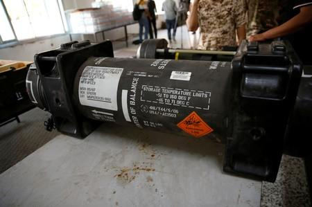 United States  missiles found in Libya compound belonged to France