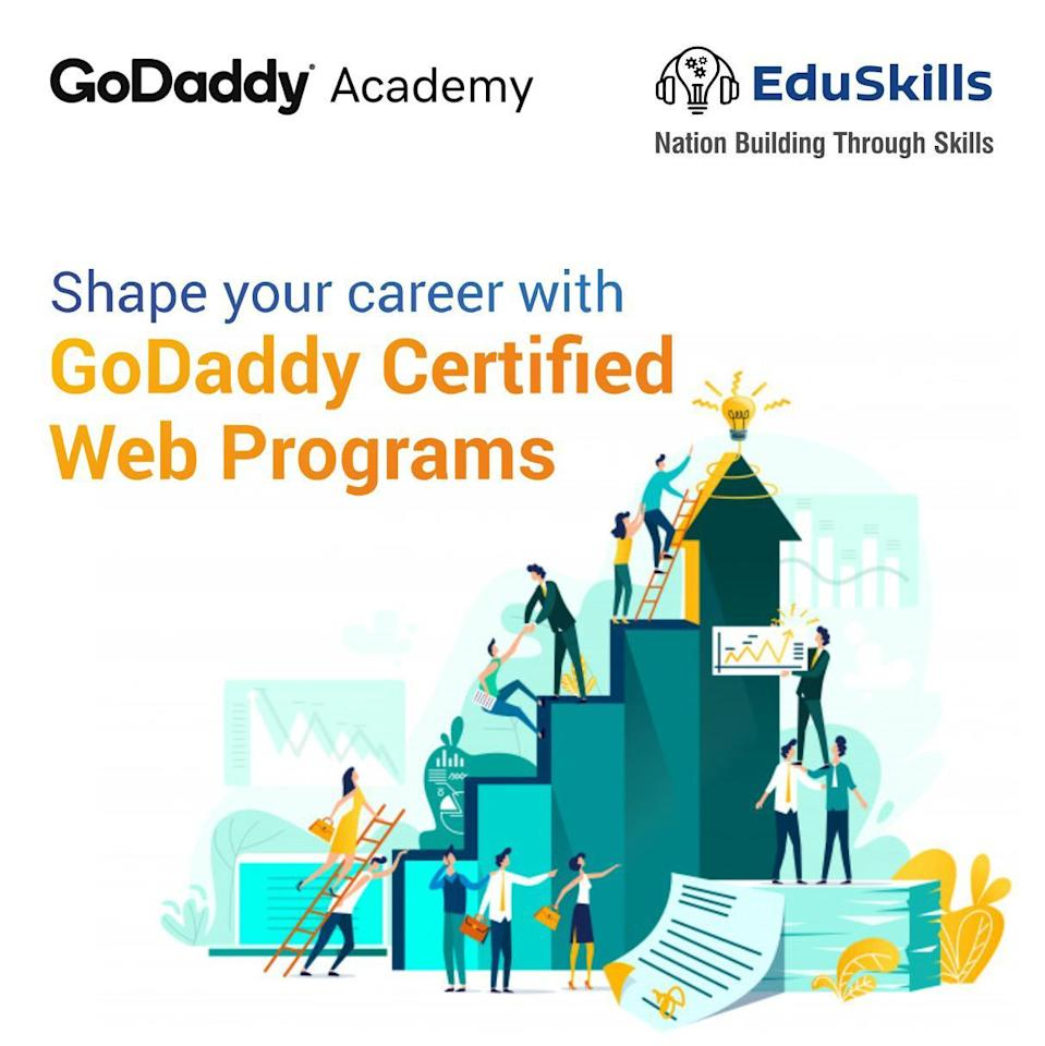 GoDaddy and EduSkills