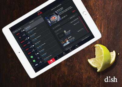 DISH's OnePoint remote app gives business owners the ability to control multiple televisions from one interface using iPad and Android tablets.
