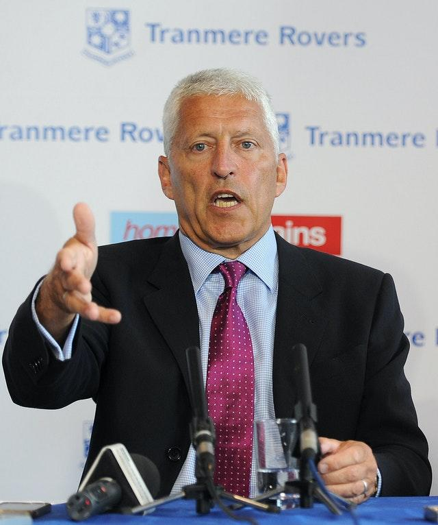 Mark Palios' club Tranmere were relegated to League Two on the PPG system