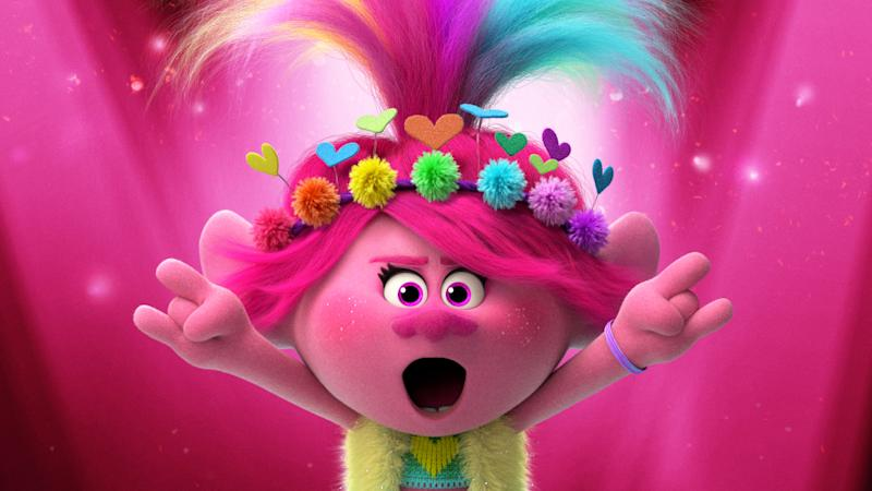 Anna Kendrick returns in animated sequel 'Trolls: World Tour'. (Credit: Universal)