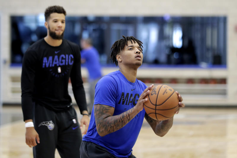 Orlando Magic guard Markelle Fultz.