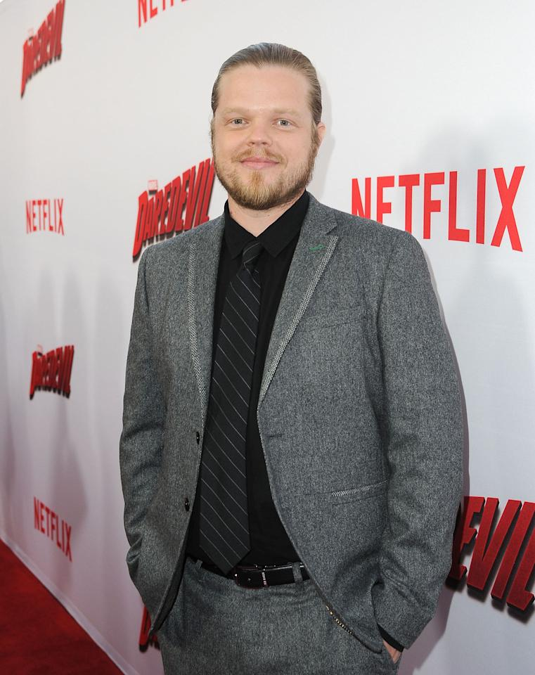 <p>Most recently, Elden stars as Foggy Nelson in the Netflix's original series <em>Daredevil</em>, where he plays the best friend and legal partner of the main character, Matt Murdock. He's also part of <em>The Hunger Games</em> franchise; in November he'll return to the big screen to reprise his role as Pollux the Avox in <em>The Hunger Games: Mockingjay - Part 2</em>.</p>