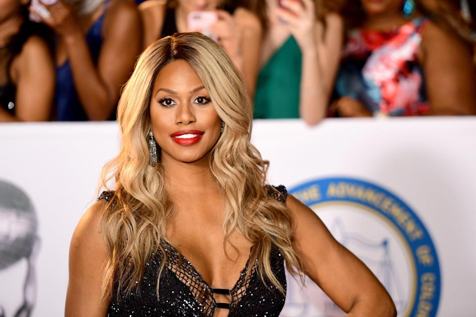 "In the <em>Orange Is the New Black</em> episode titled ""Lesbian Request Denied,"" we see Laverne Cox's character, Sophia, before her gender-reassignment surgery. Her pre-surgery self is actually played by her twin, M Lamar., whom Cox was thrilled to have on set. ""There's a wonderful bond that we share, and there's a tremendous amount of respect that we have for each other as artists and as human beings,"" she <a href=""https://www.yahoo.com/entertainment/bp/-orange-is-the-new-black--star-laverne-cox-on-her-twin-brother-s-surprising-role-on-the-series-232519980.html"" data-ylk=""slk:said;outcm:mb_qualified_link;_E:mb_qualified_link;ct:story;"" class=""link rapid-noclick-resp yahoo-link"">said</a>. ""So I'm really grateful that I got to share a little bit of this show and this moment with him."""