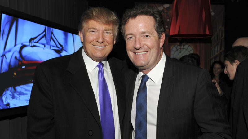Piers Morgan Hypes Trump Interview And Gets Mercilessly Bashed By Twitter Users