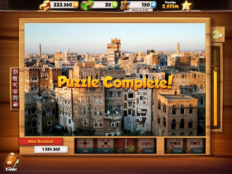 Puzzle Chasers puzzle complete
