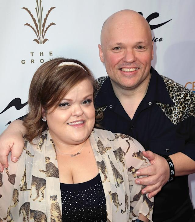 Christy McGinity Gibel with ex-husband Todd Gibel (Getty Images)