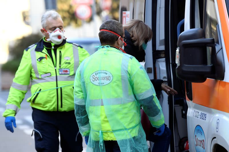 Coronavirus emergency in northern Italy
