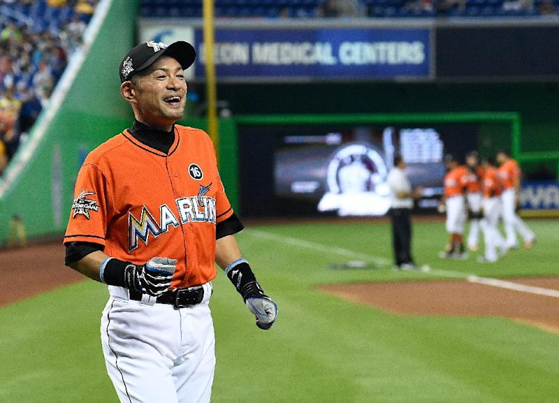 Marlins honor Japanese hit king Ichiro