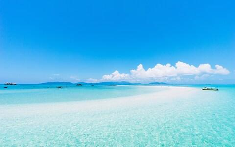Okinawa is famed for its beaches - Credit: GETTY