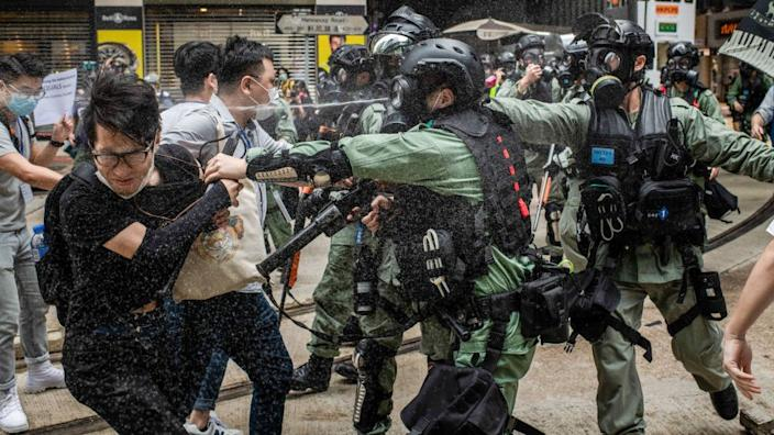 Huge protests broke out in Hong Kong this weekend