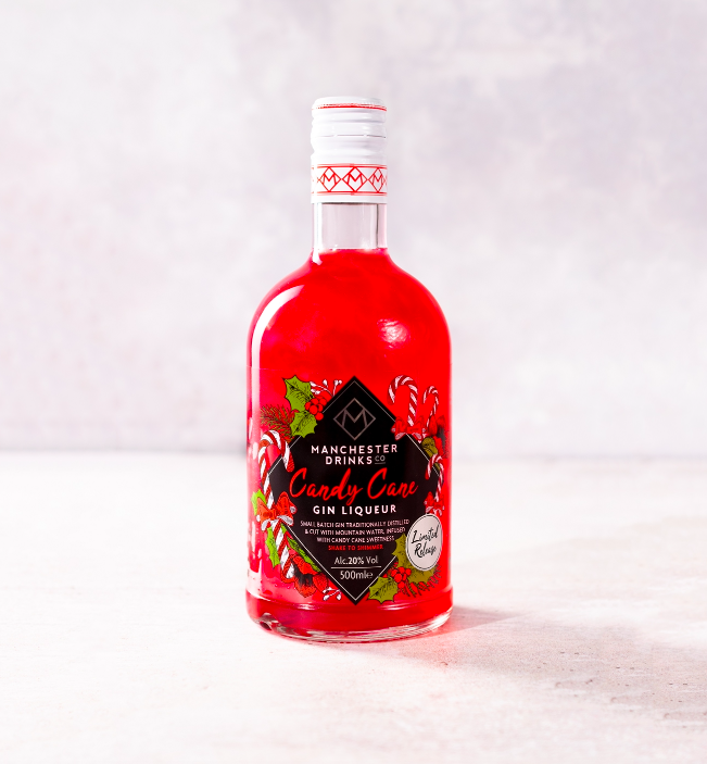 <p>There's nothing we love more than a shimmery gin, and this candy cane flavoured liqueur is right up our street! It features subtle minty notes with sweet vanilla to create that nostalgic candy cane taste. </p><p><strong>Available in Home Bargains, £8 </strong></p>