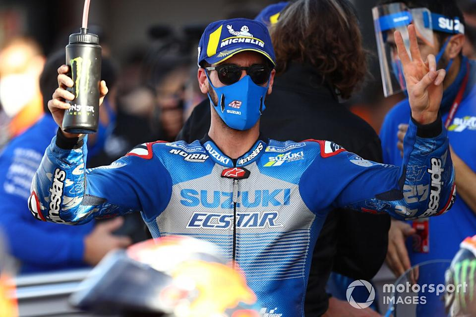 "Segundo lugar Alex Rins, Team Suzuki MotoGP<span class=""copyright"">Gold and Goose / Motorsport Images</span>"