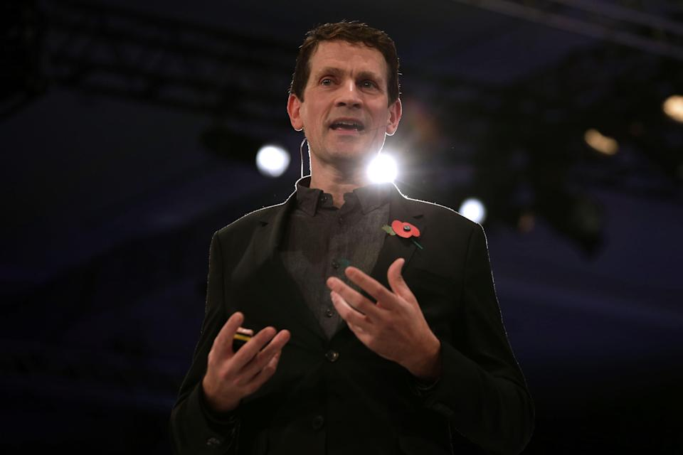 <p>The power is all in our hands: former Europe, the Middle East and Africa Twitter boss Bruce Daisley</p> (AFP via Getty Images)