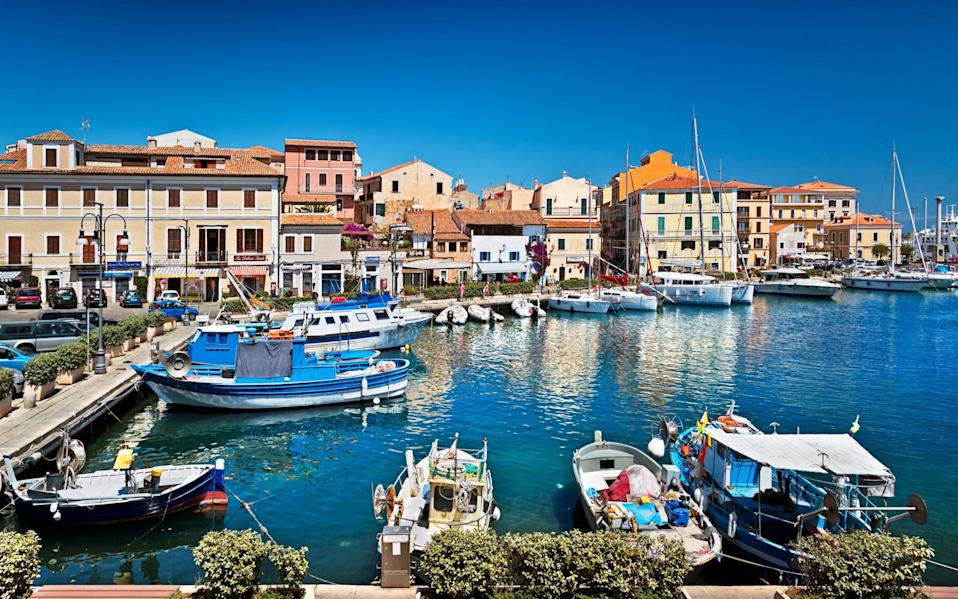 Sardinia is hoping to vaccinate its entire population to aid its reopening - Ellen van Bodegom