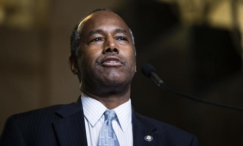Ben Carson recently faced criticism over revelations he ordered a $31,000 dining set for his Washington office.