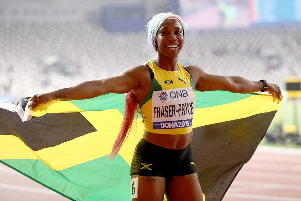 Shelly-Ann Fraser-Pryce returned to the top of the sprinting game with her world title in the 100m in 2019 (Getty Images for IAAF)