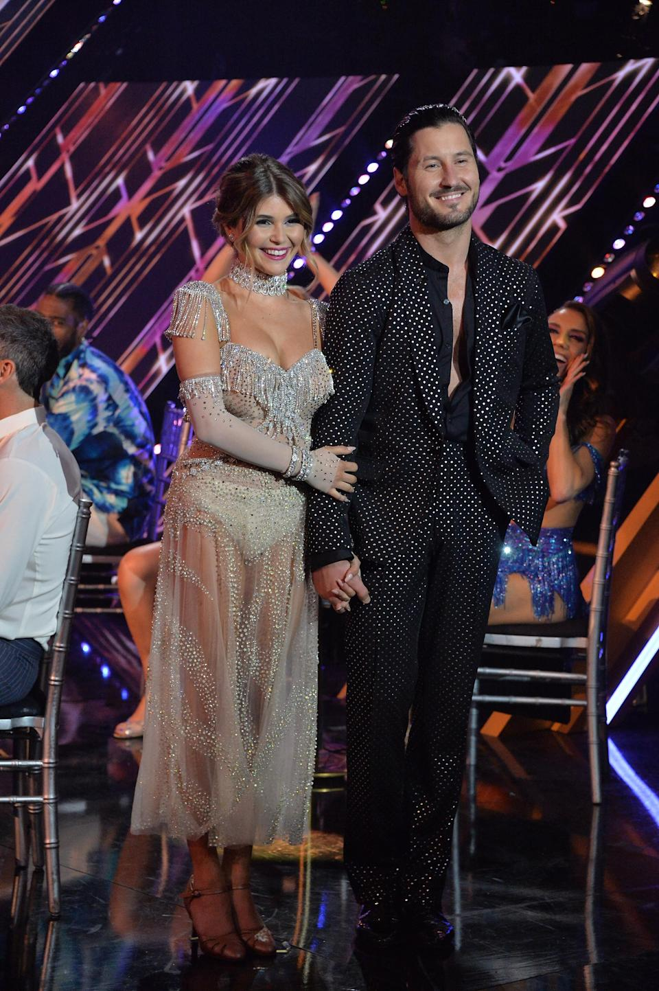"""Olivia Jade and Val Chmerkovskiy on """"Dancing With the Stars."""" - Credit: ABC"""