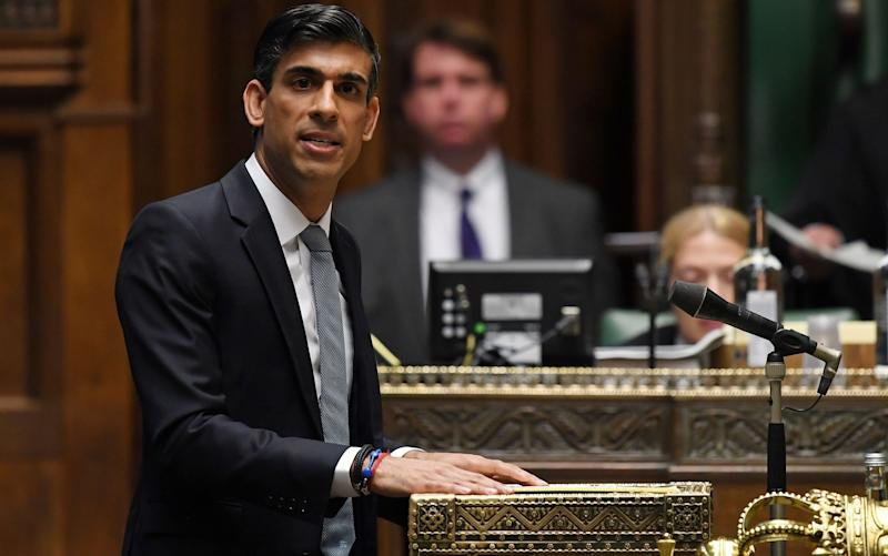 Rishi Sunak told the Commons: 'Governments, much less people, rarely get to choose the moments that define them. What choice there is comes in how we respond' - Jessica Taylor/AFP