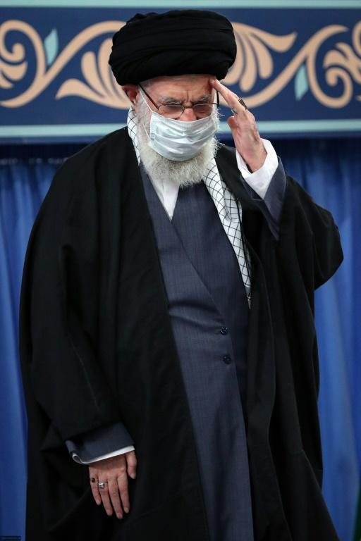 """""""If they want Iran to return to its commitments... the United States must entirely lift the sanctions, in practice and not on paper,"""" Iran's supreme leader Ali Khamenei said"""